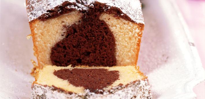 Black and White Pound Cake